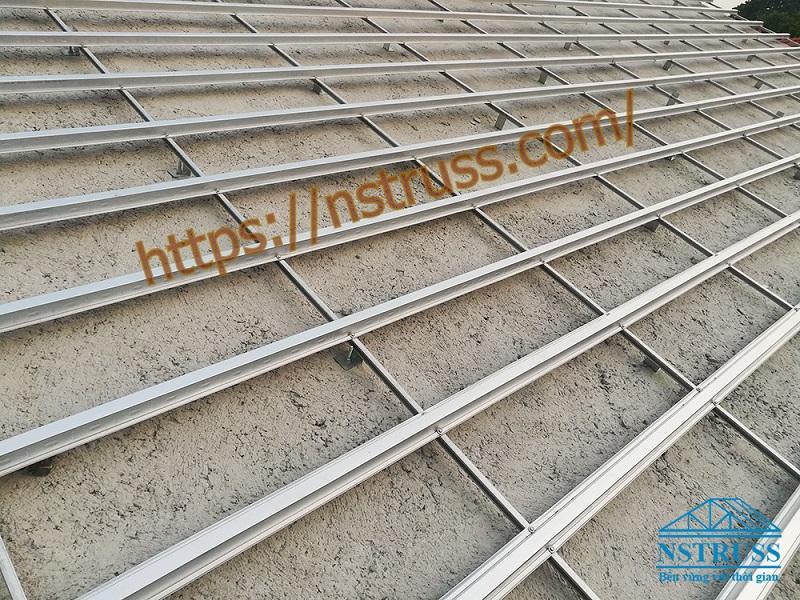 Thi công mái ngói trọn gói tại Đông Anh , Hà Nội