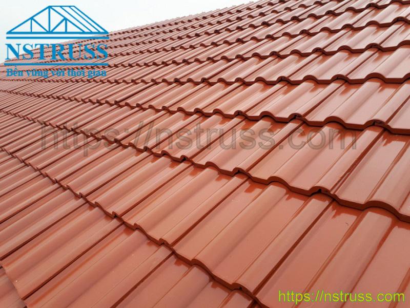 Tư vấn thiết kế thi công mái nhà lợp ngói prime