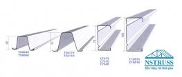 Thép mạ hợp kim nhôm kẽm cho kết cấu khung kèo mái ngói