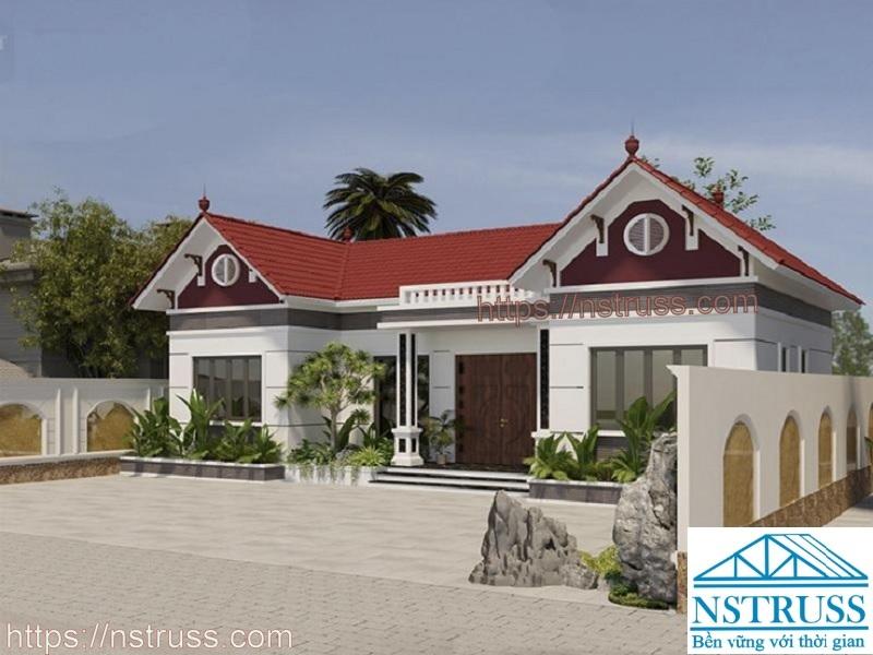 Nhà mái ngói truyền thống, Nhận thi công mái nhà trọn gói